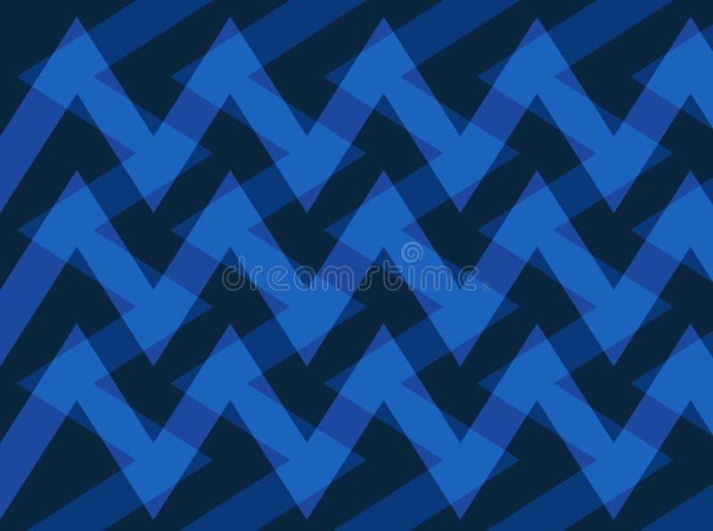 Abstrakcja urocza, świetny, oryginalny, uczciwy tło, błękitni, ciemni kolory! ilustracja wektor