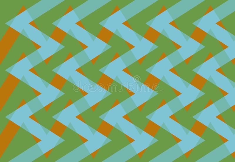 Abstrakcja urocza, świetny, oryginalny, uczciwy tło, błękitni, pomarańczowi, zieleni kolory! ilustracja wektor