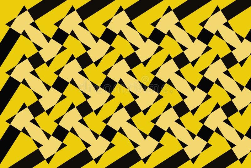 Abstrakcja urocza, świetny, oryginalny, uczciwy tło kolor żółty, ciemni kolory! ilustracja wektor