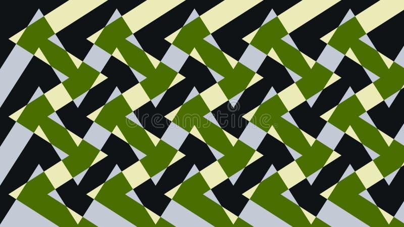 Abstrakcja urocza, świetny, oryginalny, uczciwy tło kolor żółty, zieleń, ciemni kolory! royalty ilustracja