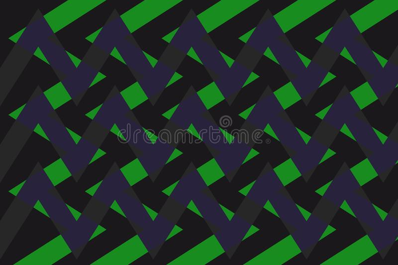 Abstrakcja urocza, świetny, oryginalny, uczciwy tło zieleń, ciemni kolory! ilustracji