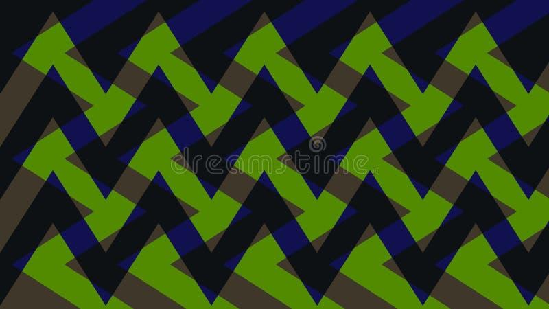 Abstrakcja urocza, świetny, oryginalny, uczciwy tło zieleń, ciemni kolory! royalty ilustracja