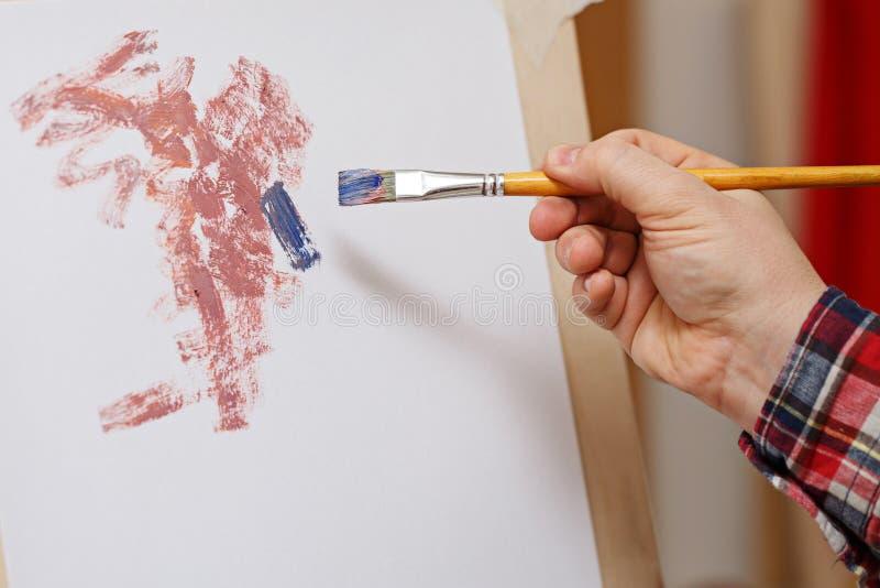 Abstrakcja w szkole artystycznej obrazy stock