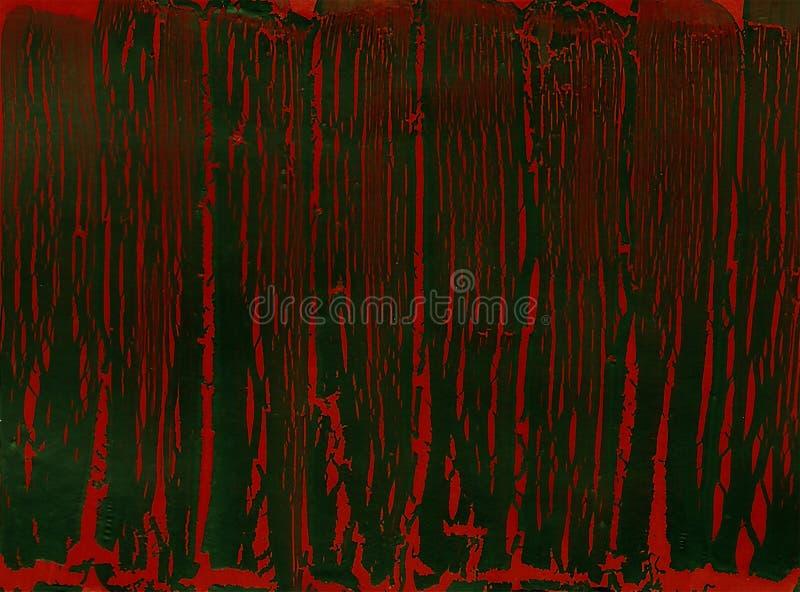Abstrakcjonistyczna łupanie farby tekstura ilustracji