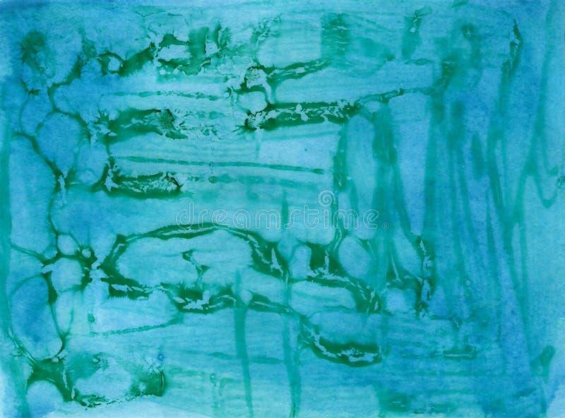 Abstrakcjonistyczna łupanie farby tekstura ilustracja wektor