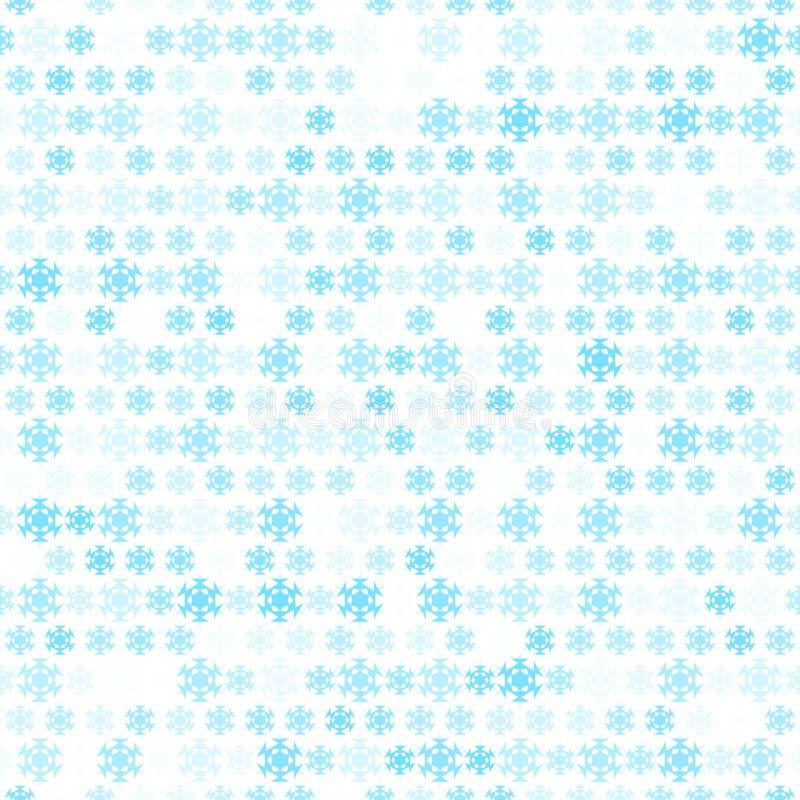 Abstrakcjonistyczna śnieżna płatka wzoru tapeta. Wektor ilustracja wektor
