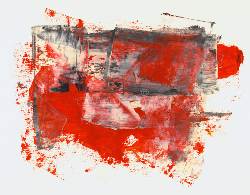 Abstrakcjonistyczna akwarela ilustracji