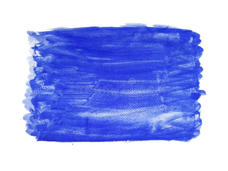 Abstrakcjonistyczna akwareli r?ki farby tekstura, odizolowywaj?ca na bia?ym tle zdjęcie stock
