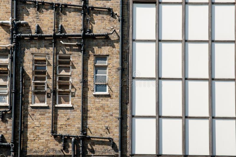 Abstrakcjonistyczna architektura. fotografia royalty free