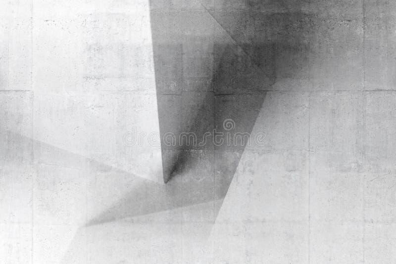Abstrakcjonistyczna architektura, betonu wz?r obrazy royalty free