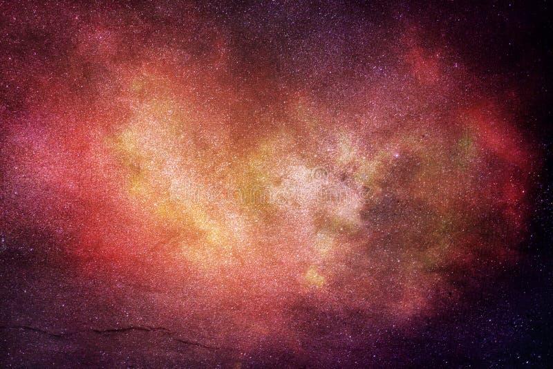Abstrakcjonistyczna Artystyczna Nowożytna Cyfrowej galaktyki Stubarwna grafika zdjęcia stock