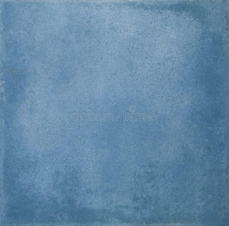 Abstrakcjonistyczna błękitna grunge ceramicznej płytki tła tekstura fotografia royalty free