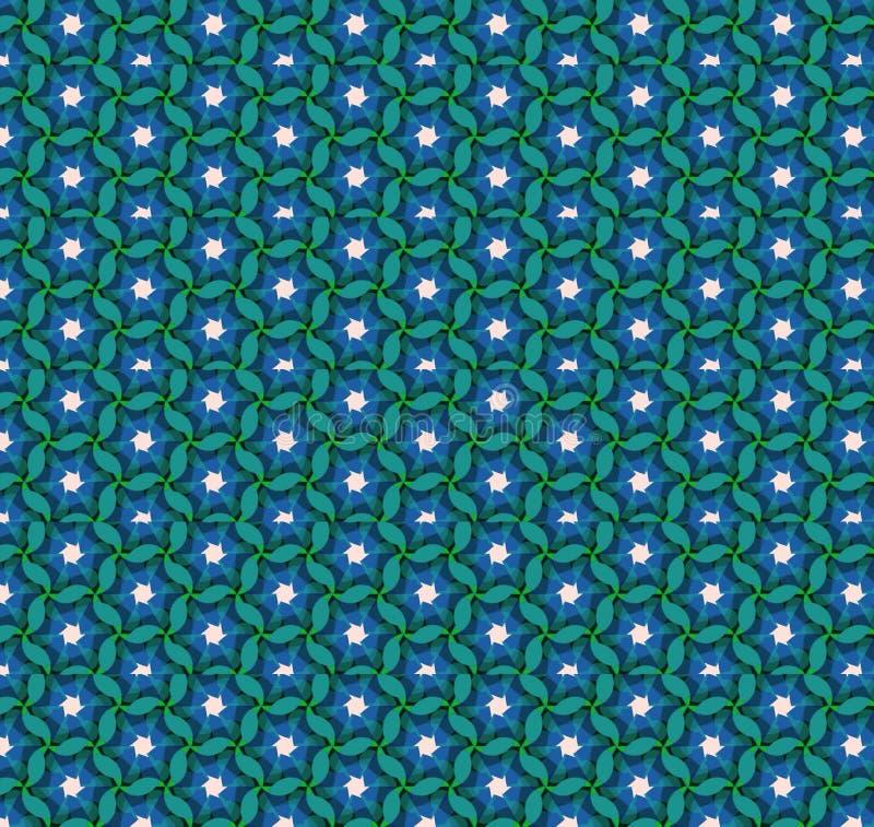 Abstrakcjonistyczna błękitna koloru wzoru tapeta zdjęcia stock