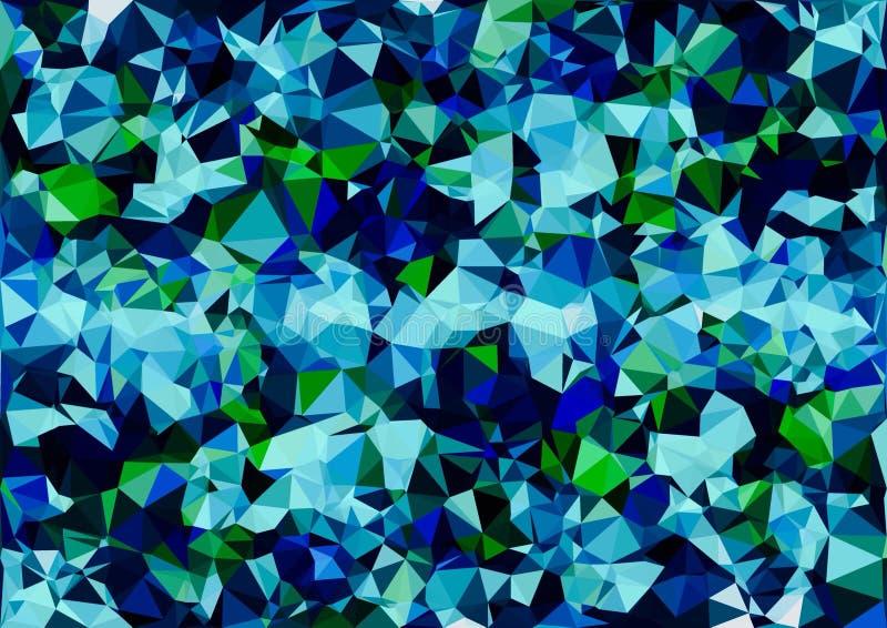 Abstrakcjonistyczna błękitna zielonego koloru bokeh tapeta zdjęcia royalty free