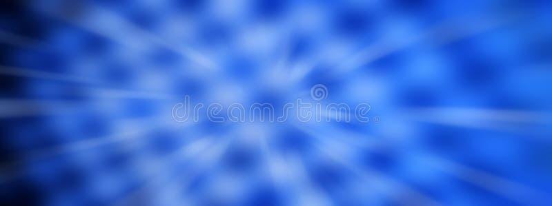 abstrakcjonistyczna backround błękit panorama obraz stock