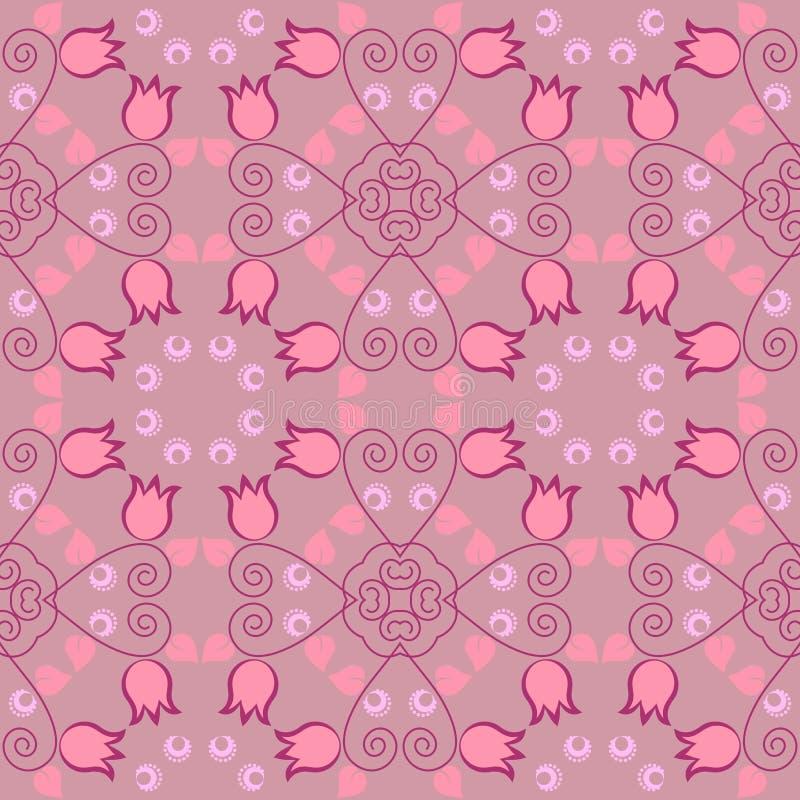 Download Abstrakcjonistyczna Bezszwowa Tekstura Ilustracja Wektor - Obraz: 33044663