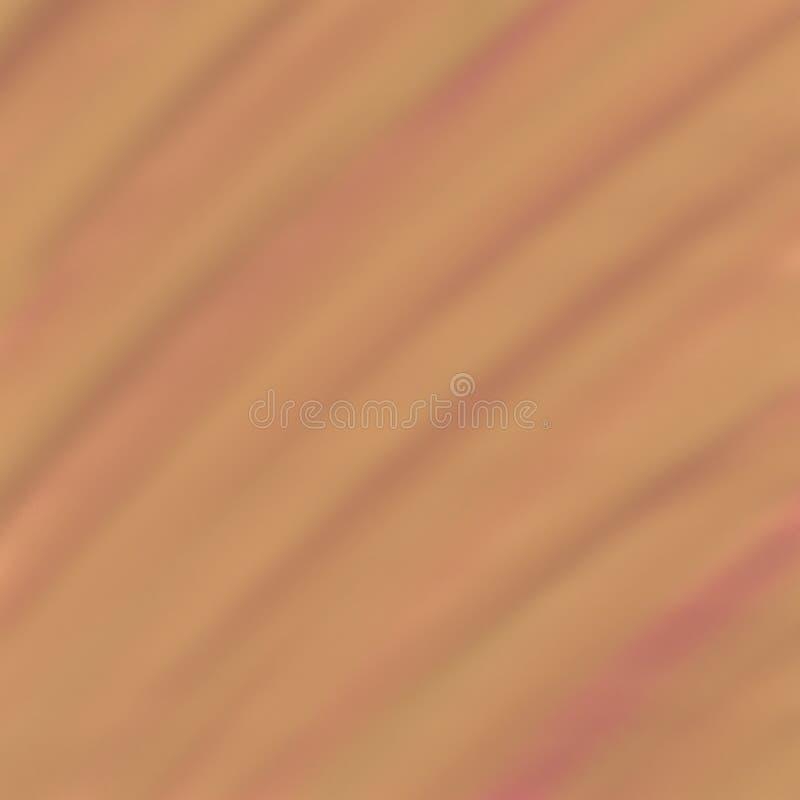 Abstrakcjonistyczna brown plamy tła akwareli tekstura ilustracja wektor