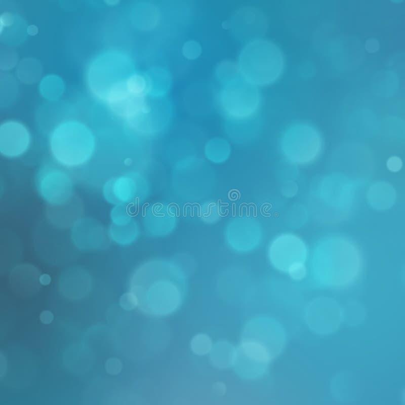 Abstrakcjonistyczna cząsteczka z błękitnym tłem 10 eps ilustracji