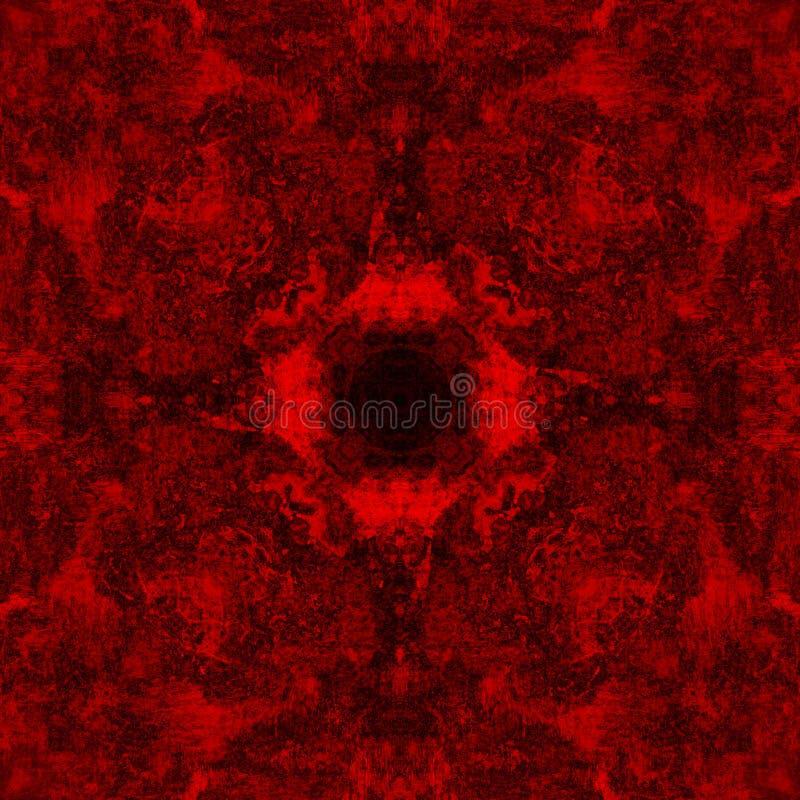 Abstrakcjonistyczna czerwień deseniujący tło zdjęcie royalty free