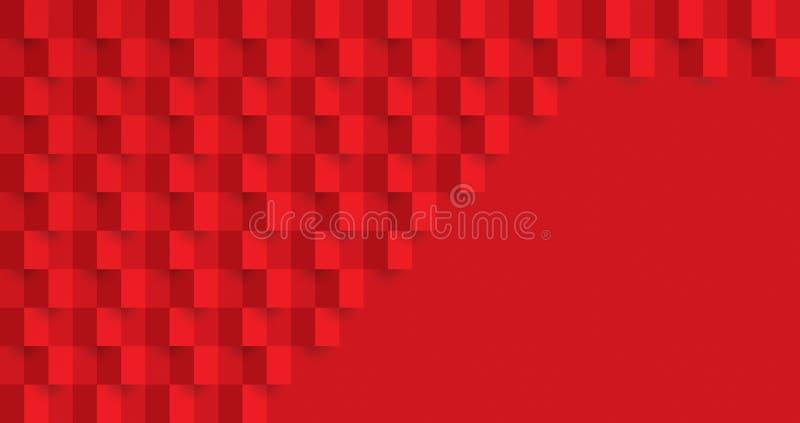 abstrakcjonistyczna czerwona tekstura Wektorowy t?o mo?e u?ywa? w ok?adkowym projekcie, ksi??ka projekt, plakat, cd pokrywa, stro ilustracja wektor