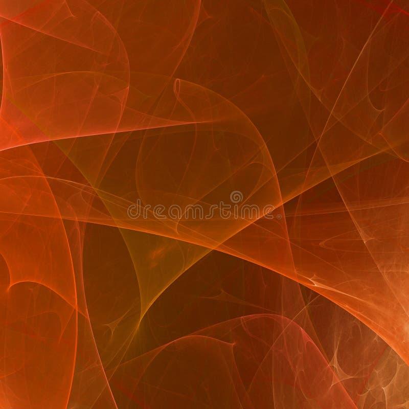 Abstrakcjonistyczna fractal tapeta z różnym i wiele kształtami fotografia stock
