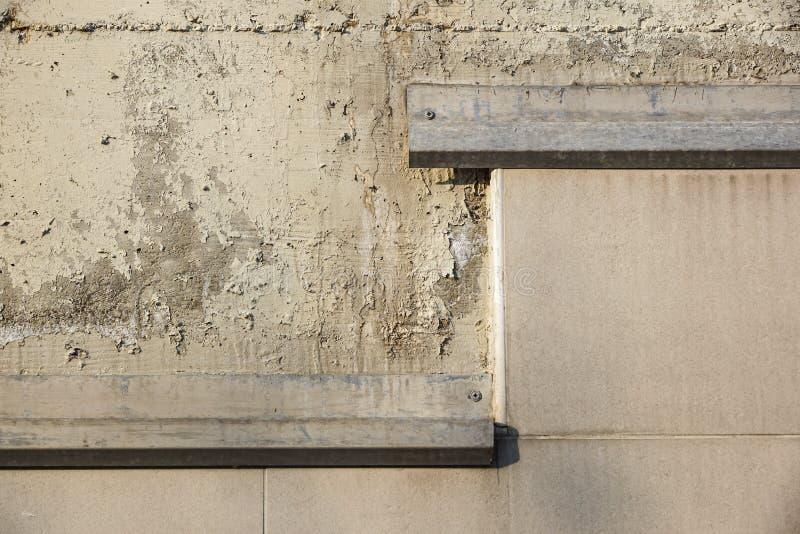 Abstrakcjonistyczna grunge ściany powierzchnia stara papierowa konsystencja zakłopotany i przemysłowy tło projekt obrazy stock