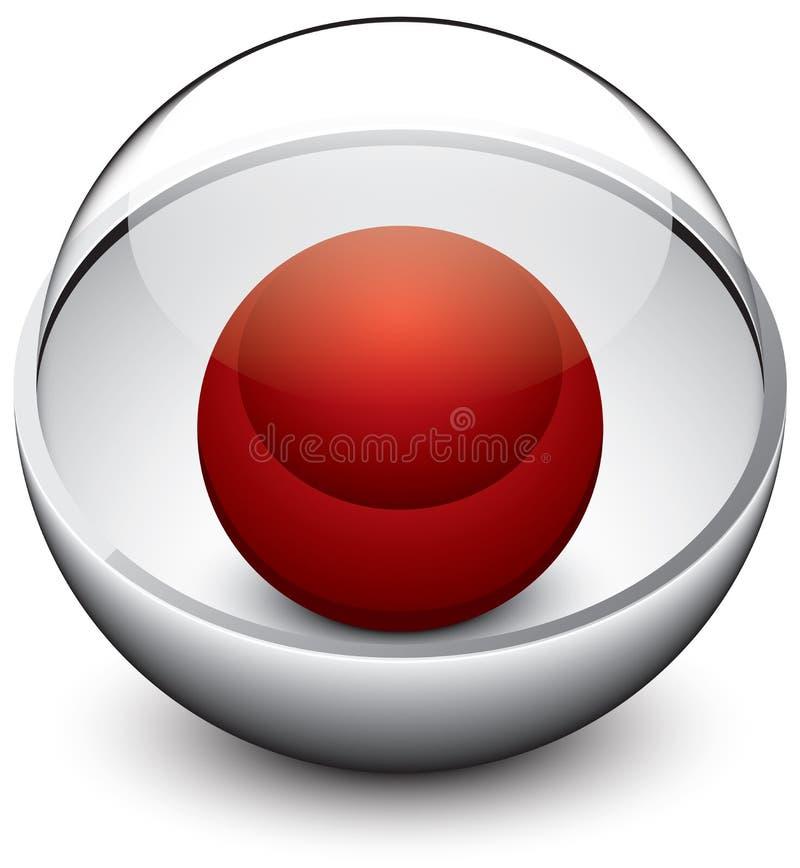 Download Abstrakcjonistyczna ikona ilustracja wektor. Obraz złożonej z guzik - 31206770
