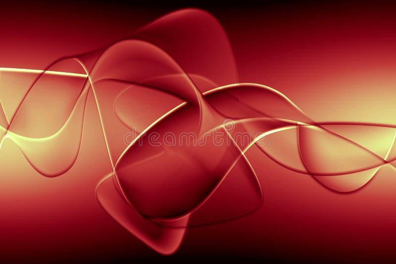 abstrakcjonistyczna ilustracyjna czerwień ilustracji