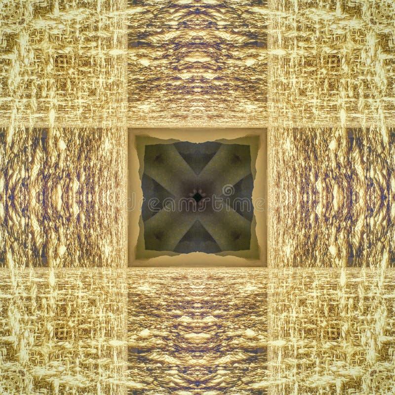Abstrakcjonistyczna kalejdoskopowa bezszwowa kolorowa deseniowa tło tekstura fotografia stock