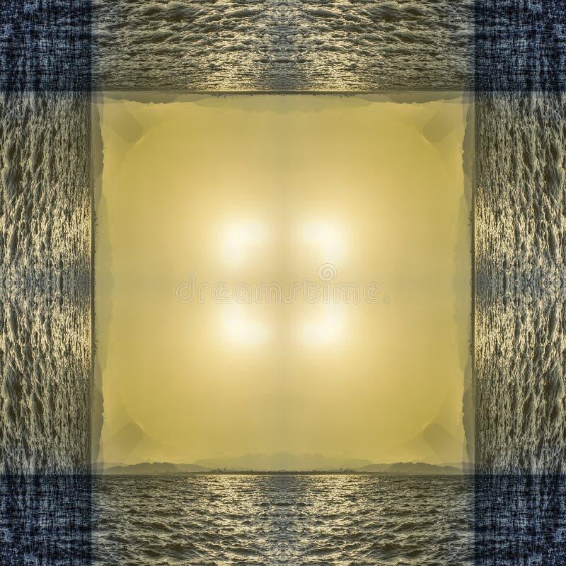 Abstrakcjonistyczna kalejdoskopowa bezszwowa kolorowa deseniowa tło tekstura obrazy stock