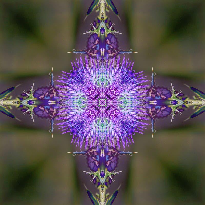 Abstrakcjonistyczna kalejdoskopowa bezszwowa kolorowa deseniowa tło tekstura obrazy royalty free