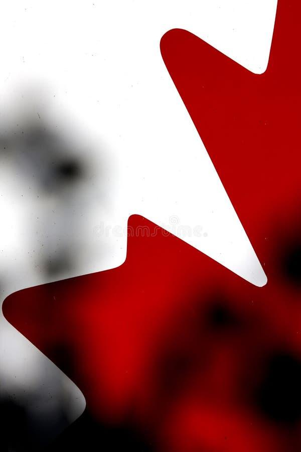 Abstrakcjonistyczna kanadyjczyk flaga zdjęcia stock