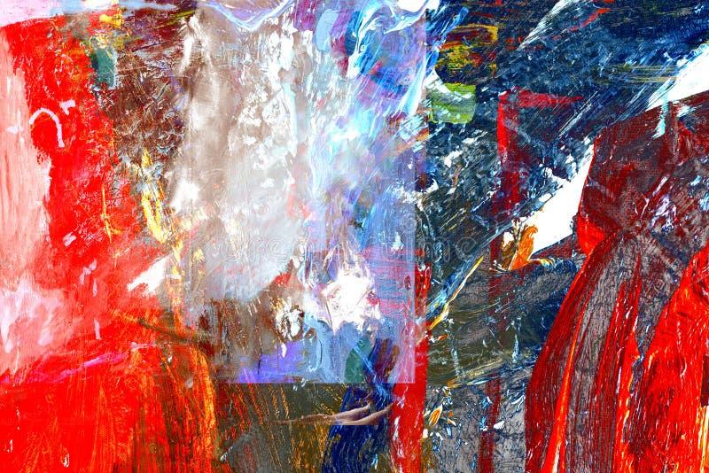 abstrakcjonistyczna kanwa zdjęcia royalty free