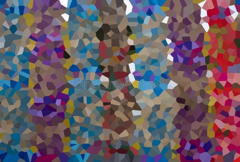 Abstrakcjonistyczna kolorowa kryształ linia zdjęcia stock
