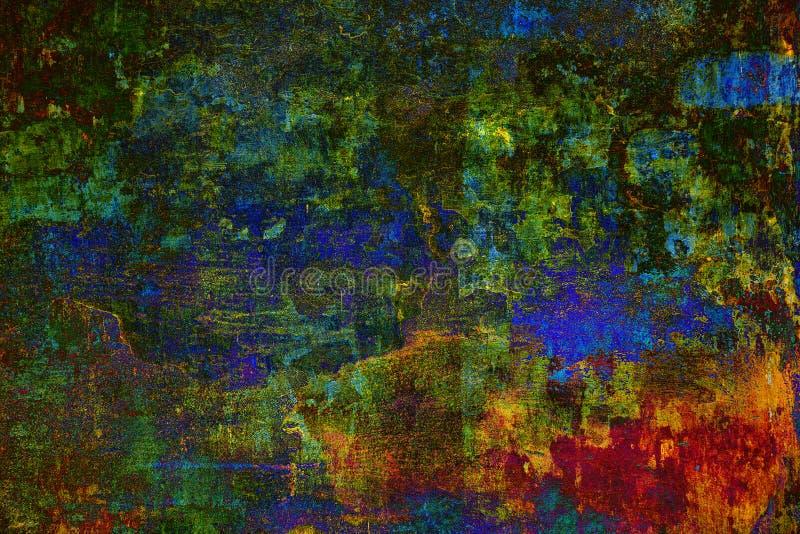 Abstrakcjonistyczna kolorowa psychodeliczna tło tekstura obrazy royalty free