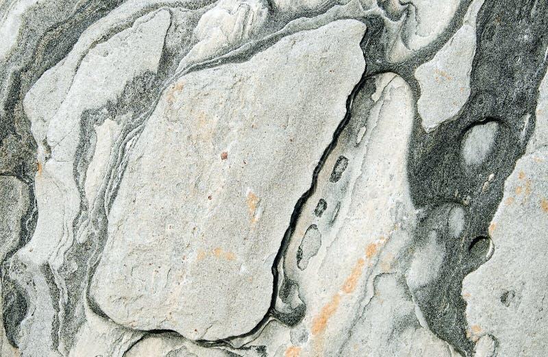 Abstrakcjonistyczna kolorowa skała fotografia royalty free