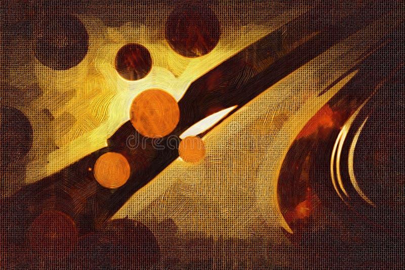 Abstrakcjonistyczna koloru projekta sztuka obraz royalty free