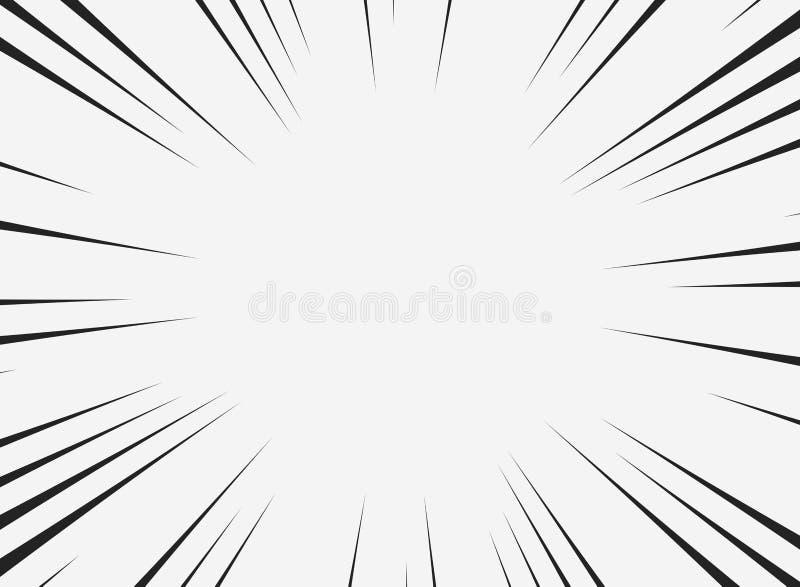 Abstrakcjonistyczna komiczki linia kopii przestrzeń z białym tłem Ty możesz używać dla główna atrakcja teksta przestrzeń dla rekl royalty ilustracja