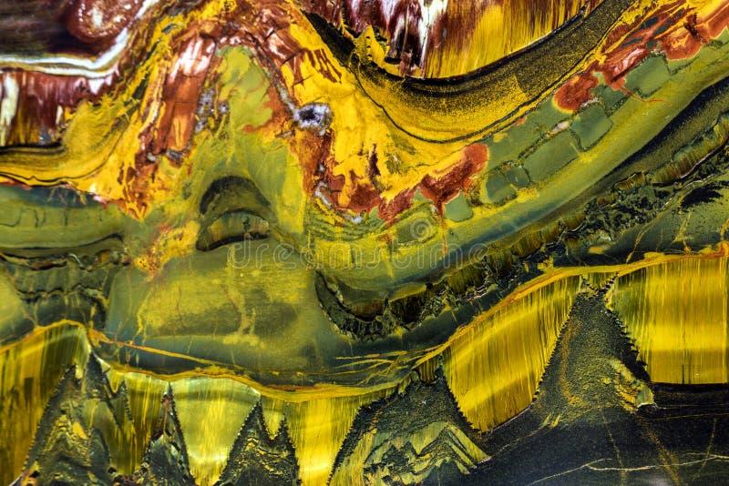 Abstrakcjonistyczna kopalna tekstura fotografia stock