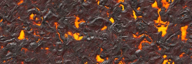 Abstrakcjonistyczna lawa textured Niszczy stopionego natura wzór ilustracja wektor
