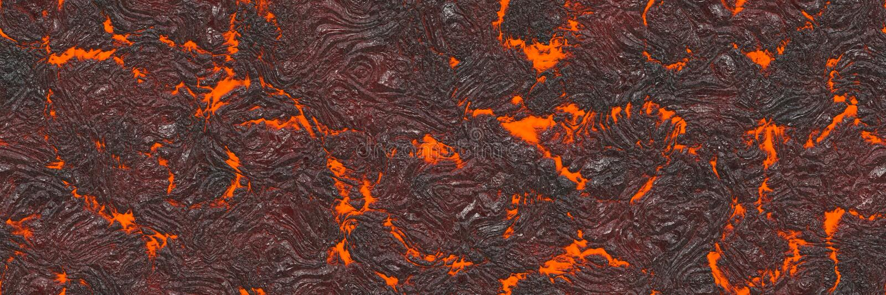 Abstrakcjonistyczna lawa textured Niszczy stopionego natura wzór royalty ilustracja
