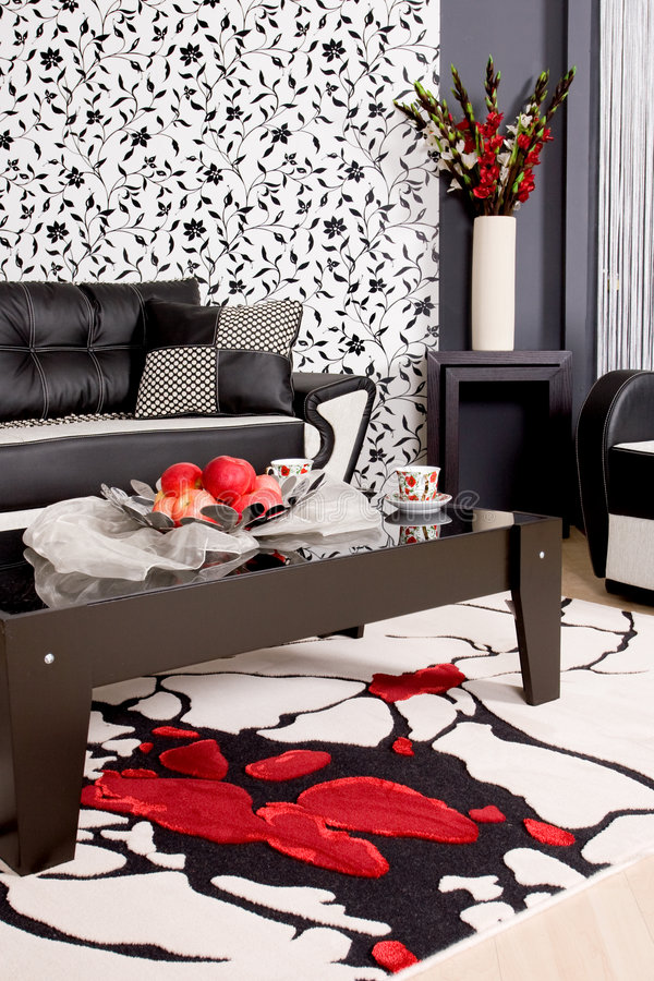 abstrakcjonistyczna luksusowa kanapa fotografia stock