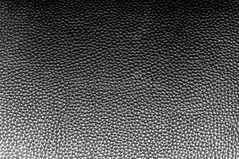 Abstrakcjonistyczna luksusowa rzemienna czarna tekstura dla tła, zmrok - szarość barwią skórę dla praca projekta lub tło produktu zdjęcia stock