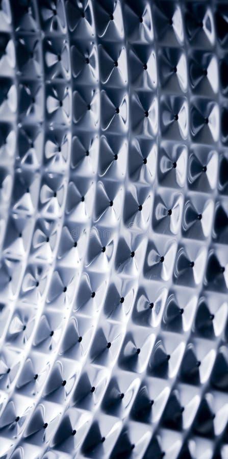 abstrakcjonistyczna metalu kwadrata tekstura obrazy royalty free
