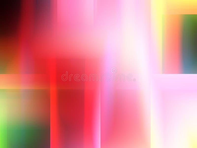 Abstrakcjonistyczna miękkiej części menchia wykłada geometrie, figlarnie geometrii tło, grafika, abstrakcjonistycznego tło i teks ilustracji