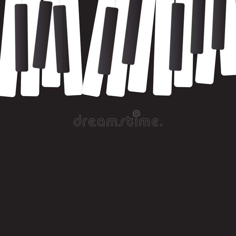 Abstrakcjonistyczna muzyczna tła wektoru ilustracja dla ilustracja wektor