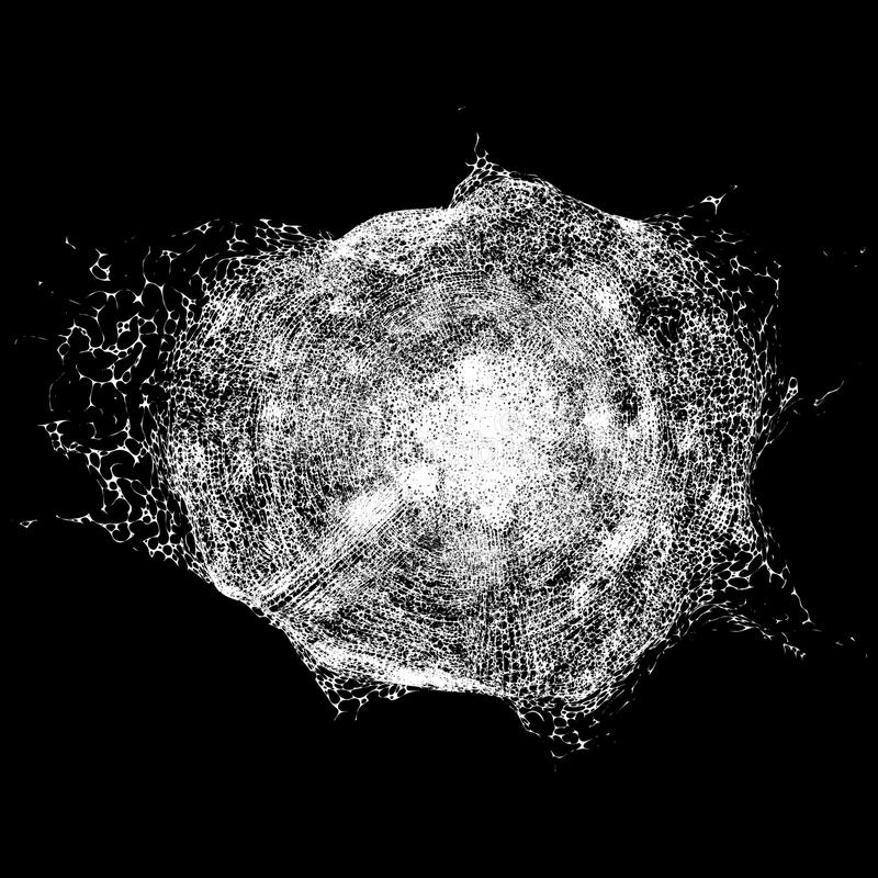 Abstrakcjonistyczna narzuty tekstura Wektorowa grunge tekstura ilustracja wektor