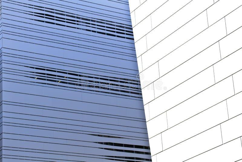 Abstrakcjonistyczna nowożytna architektura obraz royalty free