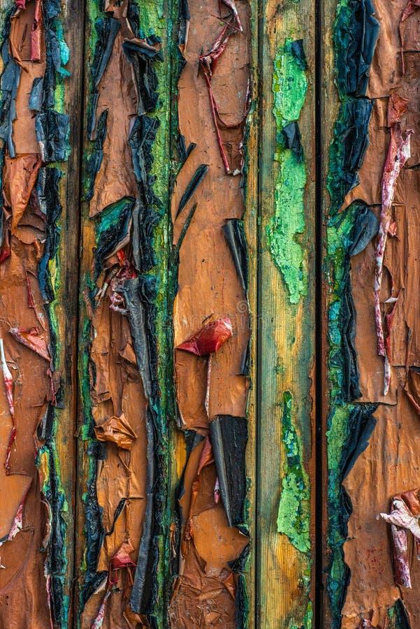 Abstrakcjonistyczna obieranie farby tekstura fotografia royalty free