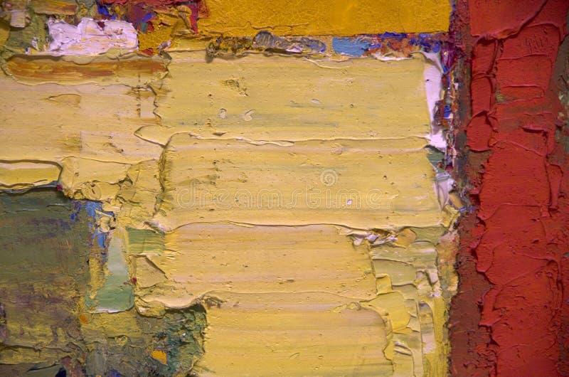 Abstrakcjonistyczna obraz olejny grafika obraz stock